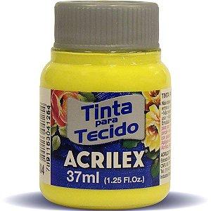 Tinta Tecido Fosca 037Ml Amarelo Limao Acrilex