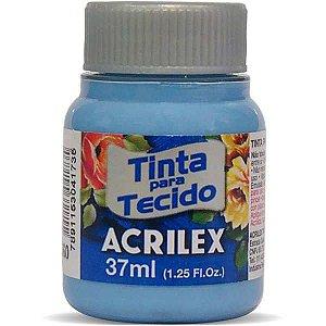 Tinta Tecido Fosca 037Ml Azul Caribe Acrilex