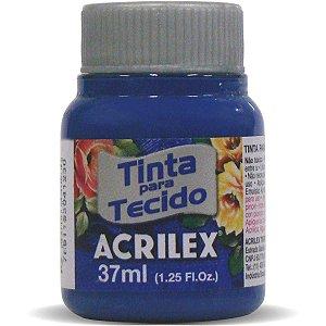 Tinta Tecido Fosca 037Ml Azul Cobalto Acrilex