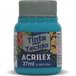 Tinta Tecido Fosca 037Ml Azul Mar Acrilex