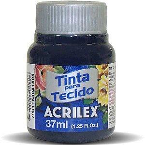 Tinta Tecido Fosca 037Ml Azul Marinho Acrilex
