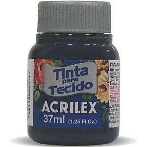 Tinta Tecido Fosca 037Ml Azul Petroleo Acrilex