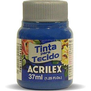 Tinta Tecido Fosca 037Ml Azul Turquesa Acrilex