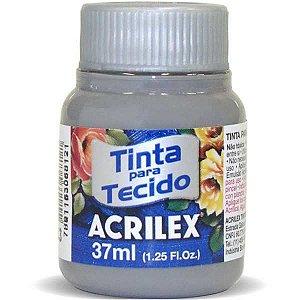 Tinta Tecido Fosca 037Ml Cinza Acrilex