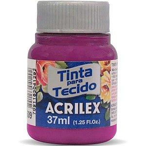 Tinta Tecido Fosca 037Ml Magenta Acrilex
