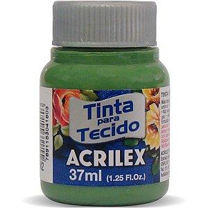 Tinta Tecido Fosca 037Ml Verde Grama Acrilex