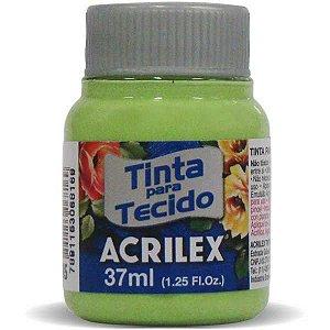 Tinta Tecido Fosca 037Ml Verde Kiwi Acrilex