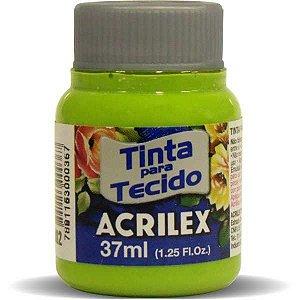 Tinta Tecido Fosca 037Ml Verde Maca Acrilex
