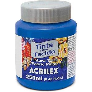 Tinta Tecido Fosca 250Ml Azul Turquesa Acrilex