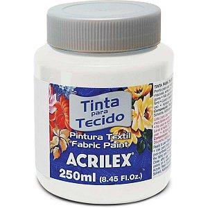 Tinta Tecido Fosca 250Ml Incolor Acrilex