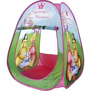 Toca Barraca Piquenique Princesas Dm Toys