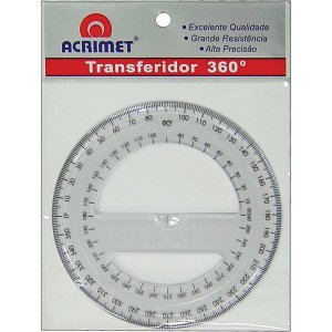 Transferidor Poliestireno 360 Graus Acrimet