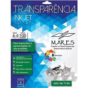 Transparencia Inkjet Inkket A4 210X297Mm. Sem Tarja Mares