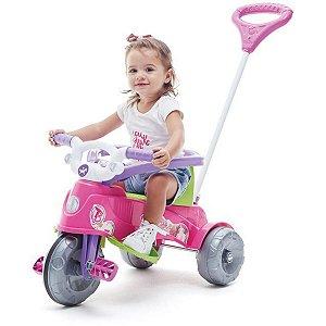 Triciclo Ta Te Tico Rosa 30Kg Calesita