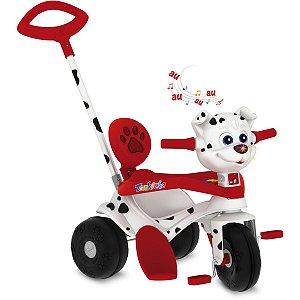 Triciclo Tonkinha Doggy Passeio E Pedal Brinq. Bandeirante