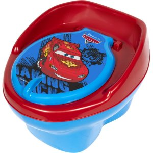 Troninho E Redutor Troninho Carros 2Em1 18+ Azul Styll Baby