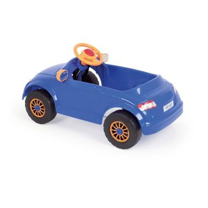 Veiculo A Pedal Audi Tt Azul Homeplay