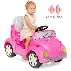 Veiculo Para Bebe 1300 Fouks Rosa Calesita