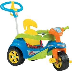 Veiculo Para Bebe Baby Trike Evolution Azul Biemme
