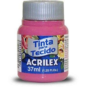 Tinta Tecido Fosca 037Ml Rosa Escuro Acrilex