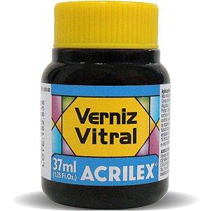 Verniz Vitral Azul Turquesa 37Ml. Acrilex