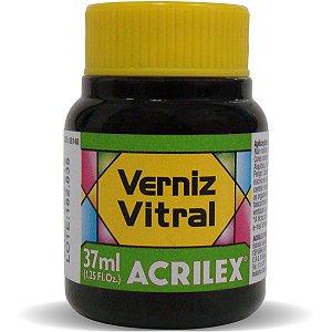 Verniz Vitral Verde Folha 37Ml. Acrilex