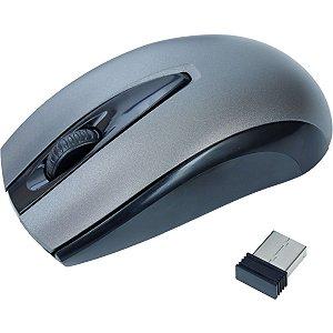 Mouse Optico Sem Fio Moby 1000Dpi Preto Newex