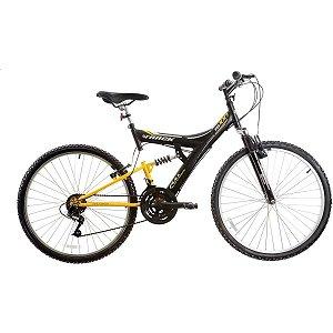 Bicicleta Aro 26 Tb 100 Xs Preta/amarela Track Bikes