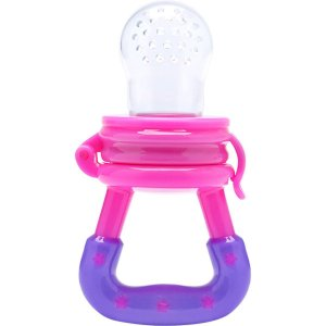 Produto Para Bebe Alimentador Silicone Rosa Lolly