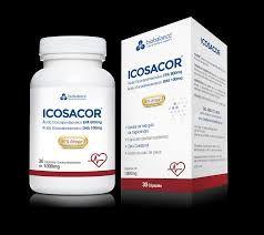 Icosacor 30 capsulas