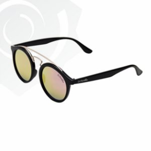 Óculos De Sol Jaguar Preto Lente Rosa Di Fiori 24598