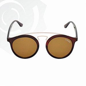Óculos De Sol Jaguar Marrom Di Fiori 23666