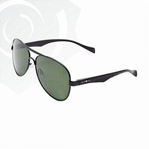 Óculos De Sol Aviator Preto Black Skull 22433