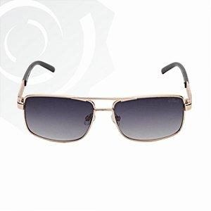 Óculos De Sol Fun Dourado Dinho 24592