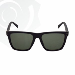 Óculos De Sol Green Dark Preto Di Fiori 23469