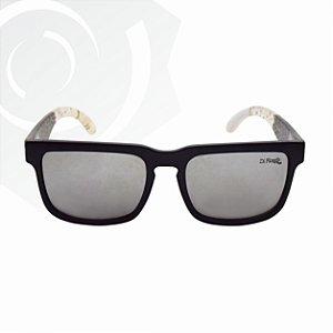Óculos De Sol Preto Jang Di Fiori 23696