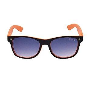 Óculos De Sol Fashion Eye Laranja Di Fiori 24615