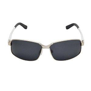 Óculos De Sol Sun Grafite Preto Di Fiori 23068