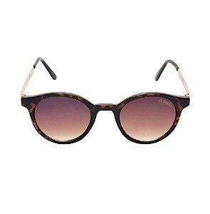 Óculos De Sol Channel Marron Di Fiori 23572