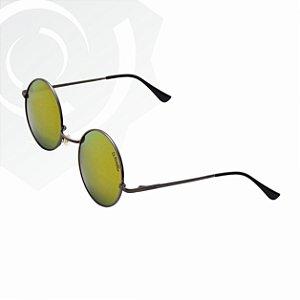 Óculos De Sol Peace Di Fiori grafite 23668
