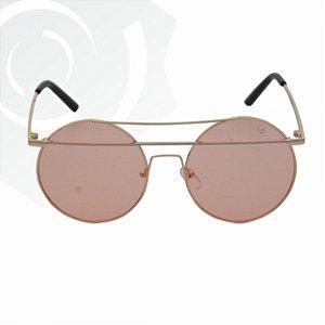 Óculos De Sol Sunshine Rosê Black Skull 24571