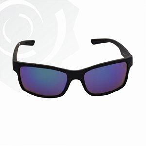 Óculos De Sol Flex Espelhado Azul Gangster 23905