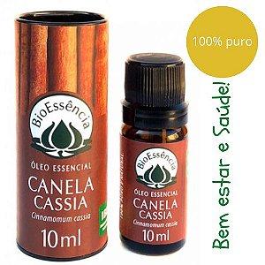 Óleo Essencial Bioessência -Canela cassia (Cinnamomum cassia) - 10 ml