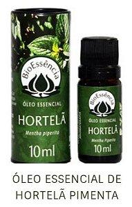 Óleo Essencial Bioessência - HORTELÃ PIMENTA (Mentha piperita) - 10 ml