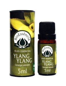 Óleo Essencial Bioessência - YLANG YLANG   (Cananga odorata)  - 5 ml