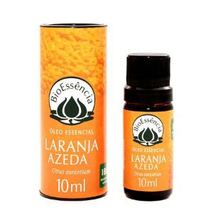 Óleo Essencial Bioessência - LARANJA AZEDA  (Citrus aurantium v.amara)  - 10 ml
