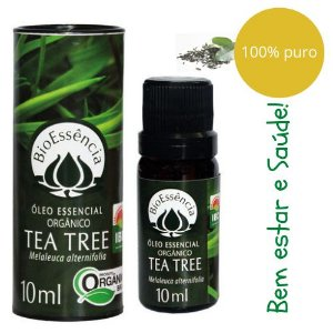 Óleo Essencial Bioessência Orgânico - TEA TREE (Melaleuca alternifolia)  - 10 ml