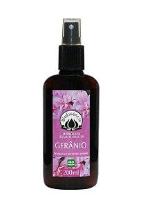 Hidrolatos de GERÂNIO (Perlagonium graveolens) - 200 ml
