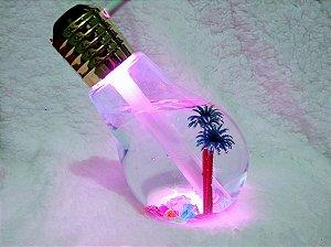 Umidificador, Aromatizador e Luminária Lâmpada - USB Bivolt