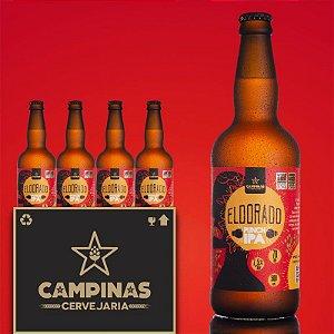 Caixa Fechada com 12 unid. da CAMPINAS Eldorado PUNCH IPA - 500ml